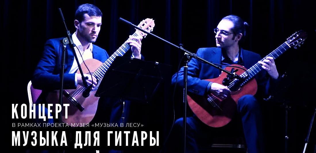 Титульное изображение для Концерта Музыка для гитары