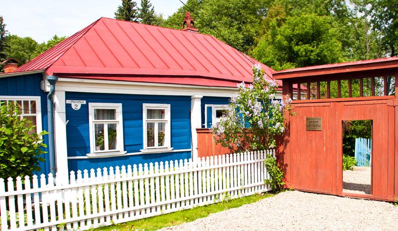 Фотография Мемориального дома-музея К. Г. Паустовского в Тарусе