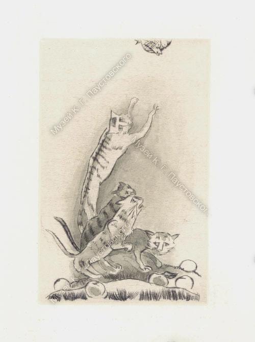 Рисунок Соболя. Кот-Ворюга