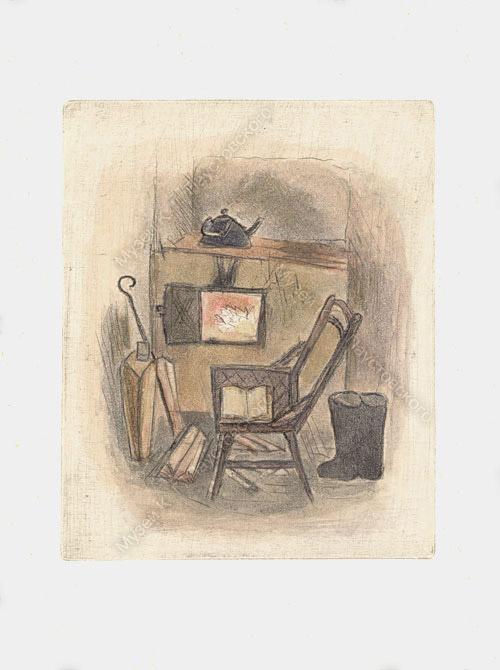Рисунок Соболя. Комната